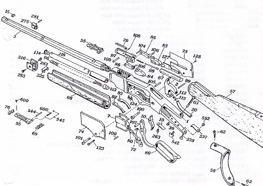 Winchester model 37 manual gauge barrel